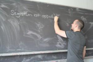 Latein lernen in den Semesterferien
